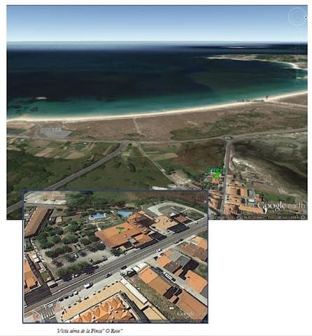 Apartamento en Playa De La Lanzada 2 - Sanxenxo - Apartment