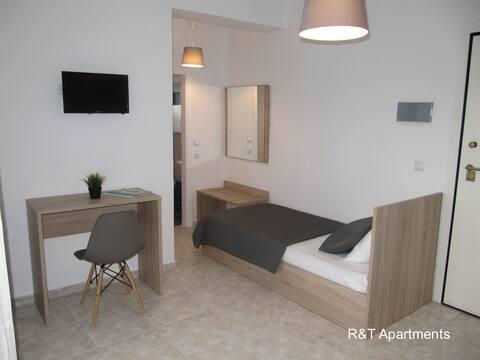 R&T Apartments 105 Διαμέρισμα με μπαλκόνι.