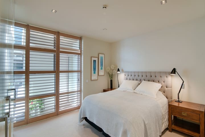 Release Wanaka - Apartment on Ardmore. One of the comfortable bedrooms.