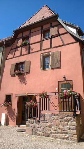 Gîte de Charme l'Accroche Coeur - Hattstatt - Casa