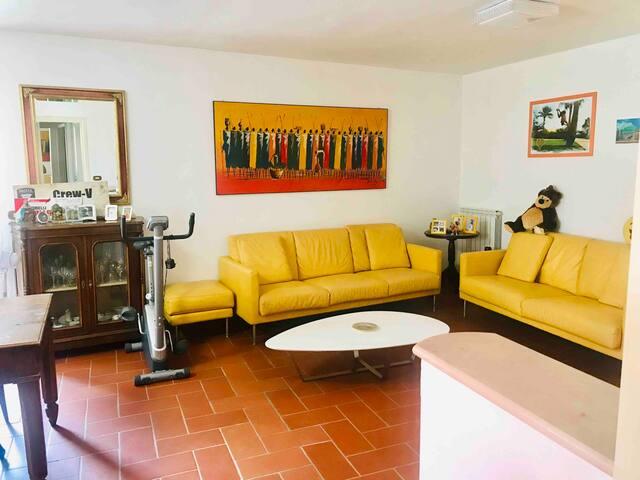 Casa Leonardo sul fiume Oglio