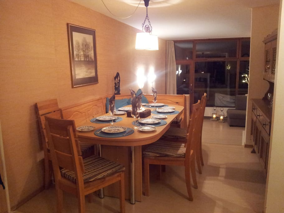 Open plan dining area - come dine with us!