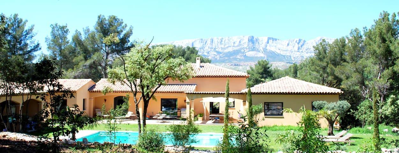 Spacieuse villa près Aix en Pce - ROUSSET - บ้าน