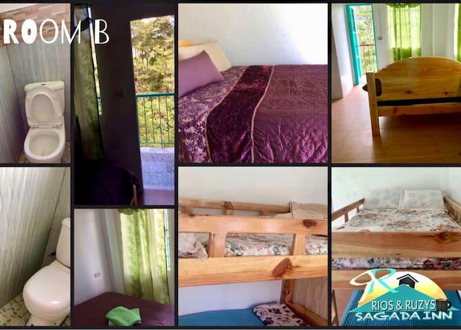 Rios & Ruzys Sagada Inn Room B