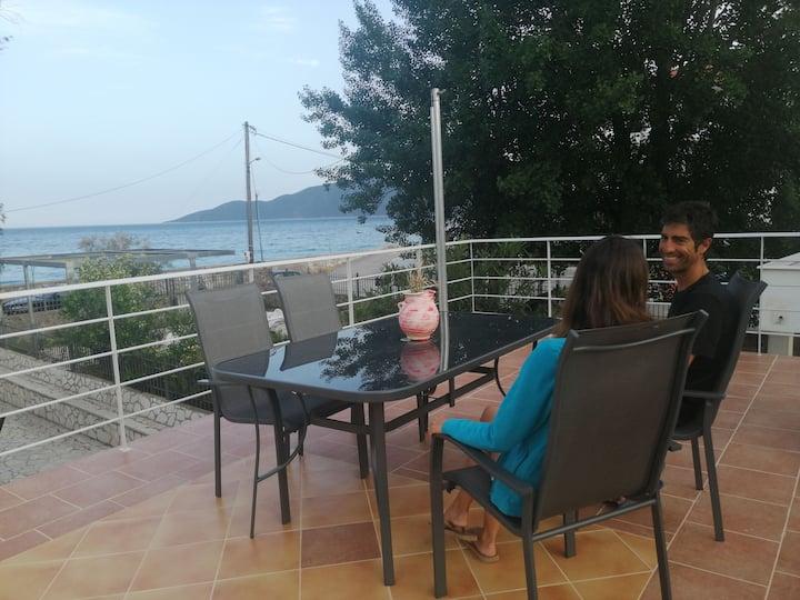 Kalivaki Christou Seaside Home