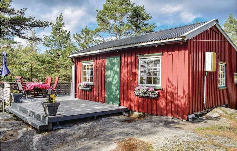 Holiday cottage with 2 bedrooms on 48m² in Larvik