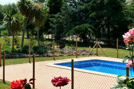 Country house with garden and pool - Montagut