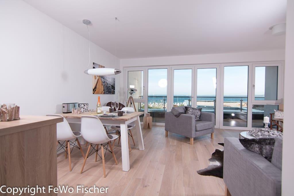 neubau fewo in direkter strandlage apartments for rent