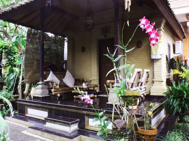 Bungalow in horticultural paradise of Ubud #5