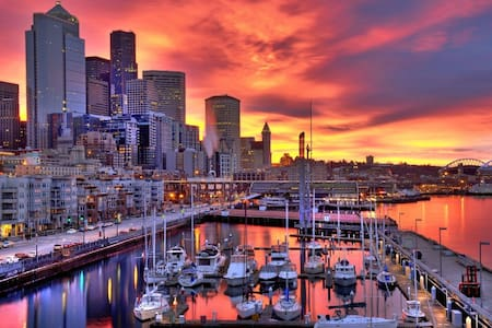 Stunning Downtown Seattle view! - Seattle