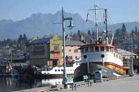 Swept Away Inn our 100ft Tugboat - Port Alberni
