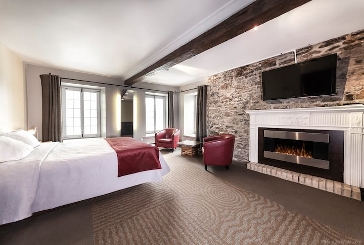 Magnifique chambre Petit-Champlain