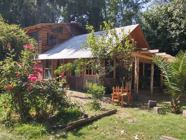 Casa en parcela EkoClub RM, Paine - Santiago - Casa