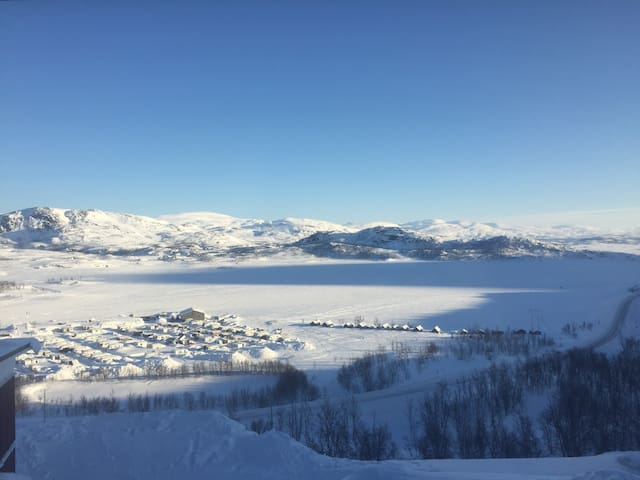 Ski-in/ski-out Riksgränsen