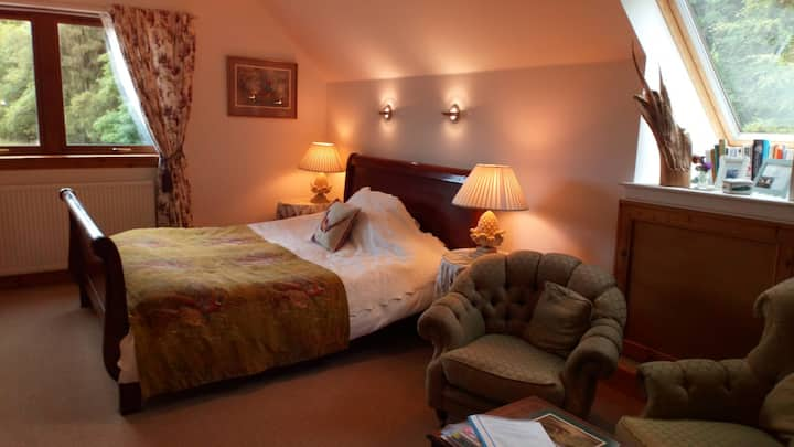 Private Super King room, Speyside Carron Aberlour