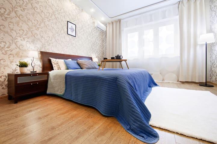 Апартаменты в Центре Краснодара на 15 этаже