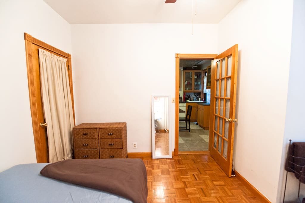 Another private bedroom shot. Spacious!