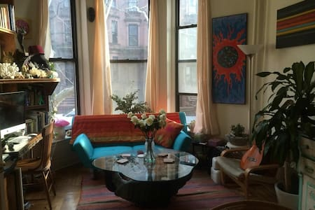 Entire Sunny Brownstone Front Apt.