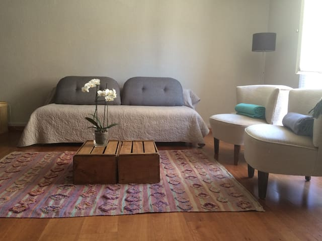 Appart 1 chambre en vielle ville - Sion - Apartemen