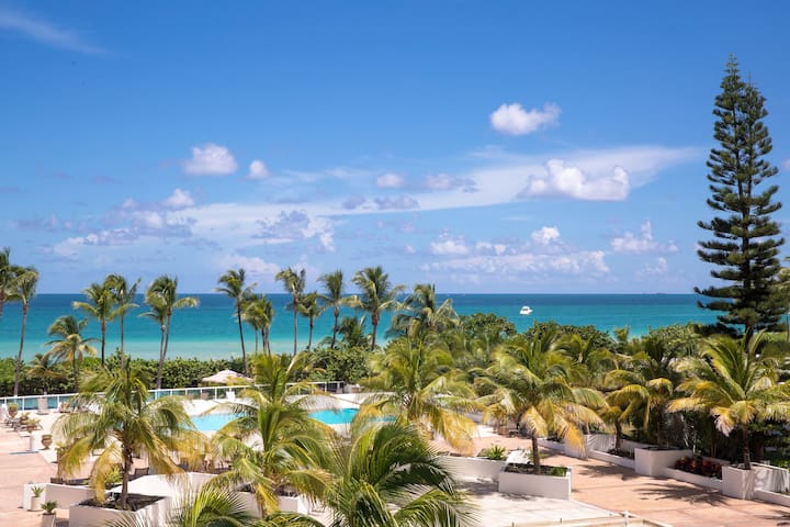 COZY OCEAN VIEW 2BR/2BA ON THE BEACH FOR 6 GUESTS - Miami - Apartment