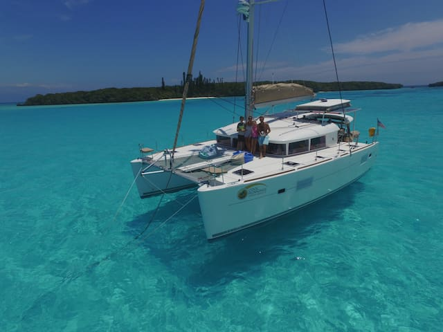 Luxury 40ft Lagoon Sailing Catamaran
