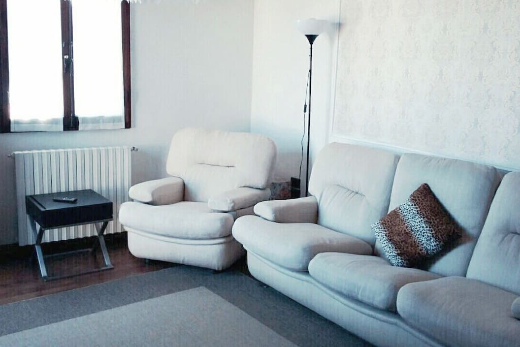 The couch in Living room