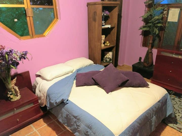 Habitación Matrimonial a 5min del metro Coyuya