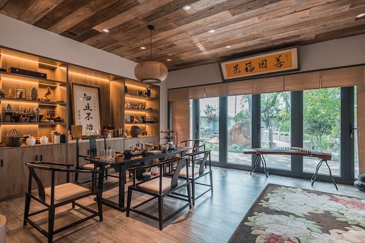 【栖息谷】汉城景区雅致园景三室两厅别墅
