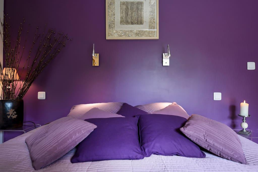 le lit spacieux en 180 transformable en 2 lits en 90