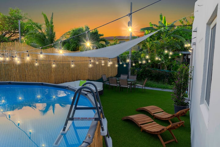 Downtown Villa- 6BR+ Pool+Spa- Little Havana