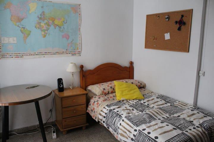 Comfortable room in Downtown GRX - Granada - Apartemen