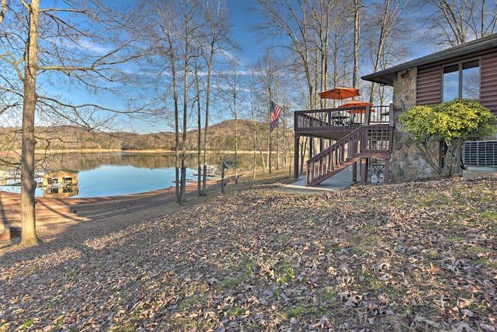 NEW-Waterfront Norris Lake Home w/Resort Amenities