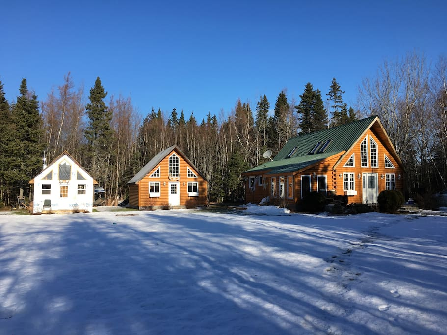 The main lodge is completely winterized will be adding additional lodging in the fall of 2017