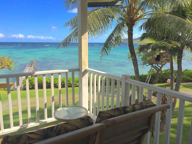 Beachfront Private & Clean Paradise - Waimanalo - Huis