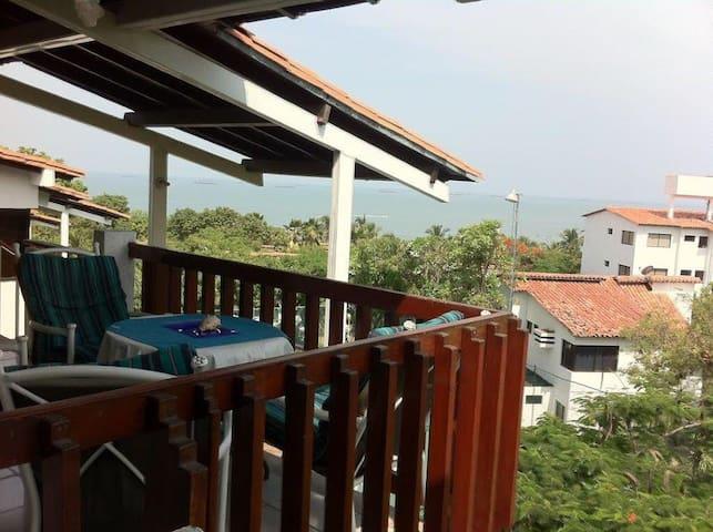 Great apartment with private beach! - Santa Marta (distrito turístico, cultural e histórico) - Apartamento