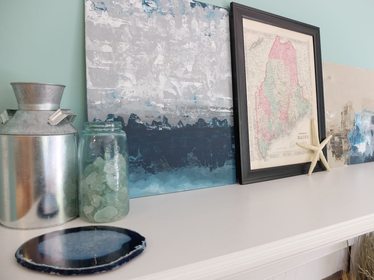 Just some of the nautical, coastal Maine details.
