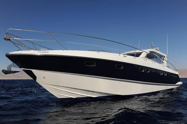 """Luxury """"Ocean"""" Yacht in Eilat - Eilat - Barco"""