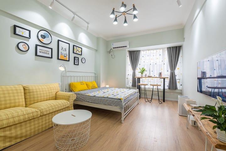 【喜舍】宽窄巷子✔天府广场✔文殊院✔北欧简约舒适一居室