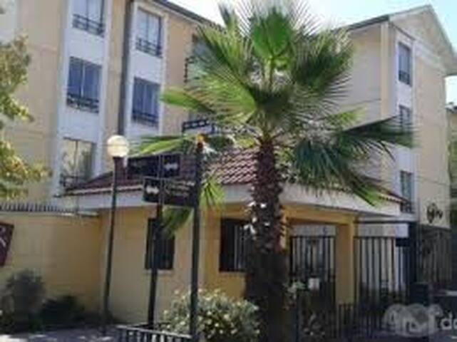 Departamento para Copa América - Santiago - Appartement en résidence