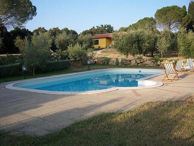 Villetta con piscina a Bibbona - Bibbona - Maison