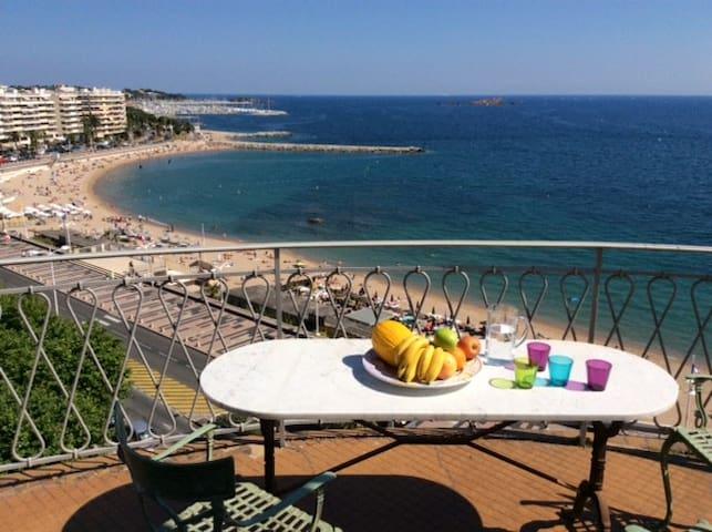 Last floor Views on Sea-City&Harbor - Saint-Raphaël
