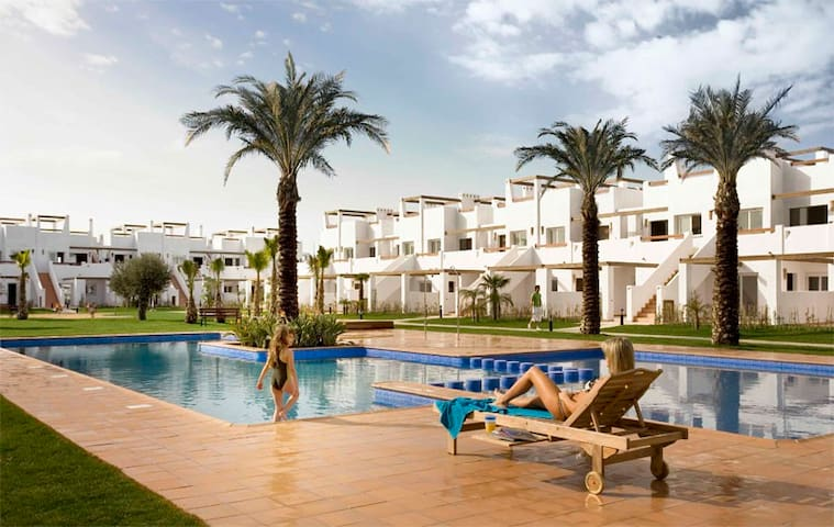 Luxury apartment with roof solarium - Alhama de Murcia - Lägenhet