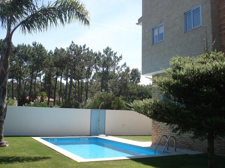 Casa do Sol - A 200 metros da praia e do pinhal