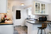 First floor kitchen.