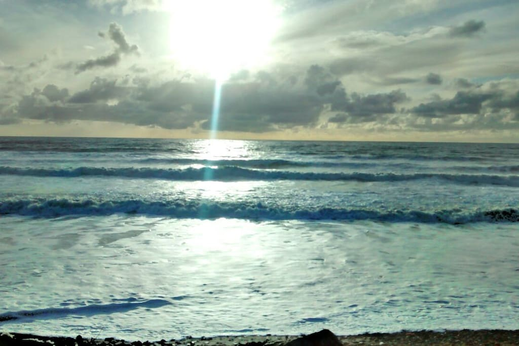 Widemouth Bay Beach.