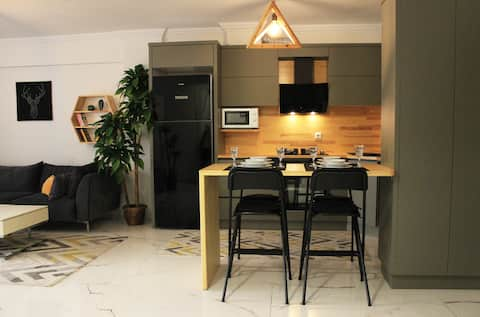 Confortevole ed elegante appartamento / 2 letti king-size.
