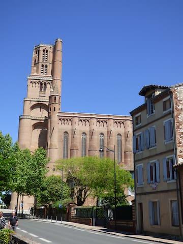 Charmant T2 au pied de la Cathédrale d'Albi