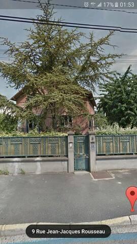 Maison avec jardin 15min de Paris - Saint-Gratien - Hus