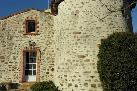 Magnificent house of 17 century - Belleville-sur-Vie - 独立屋