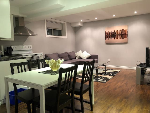 Brand New Basement Apartment - Separate Entrance